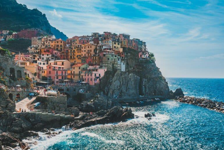 cinque terre city coast