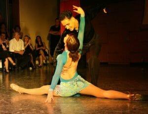 Latin Salsa Dancers
